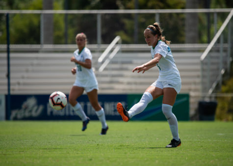 EN Photo by Julia Bonavita // Despite their 1-0 road loss against Liberty, FGCU remains atop the ASUN standings as they quickly approach the conference championships.