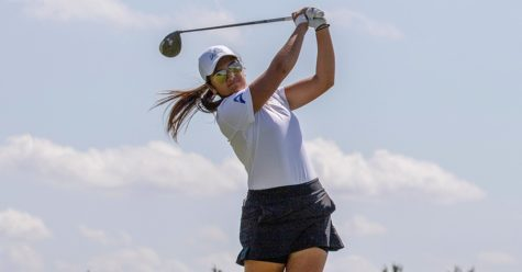 Photo Provided by FGCU Athletics // Laura Edmonds continues her stellar sophomore campaign as she took second place overall in the Jupiter Invitational with an even par 213.