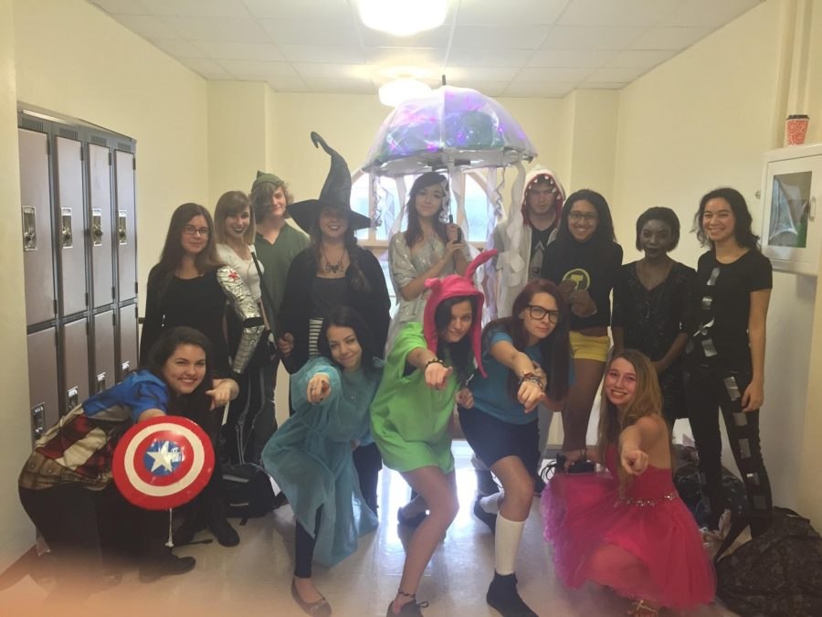 Trick-or-Treating, for a lot of teenagers and young adults, allows them to experience the safety of being a kid again, while forage for free candy and spending time with friends. Photo provided by Julia Bonavita.