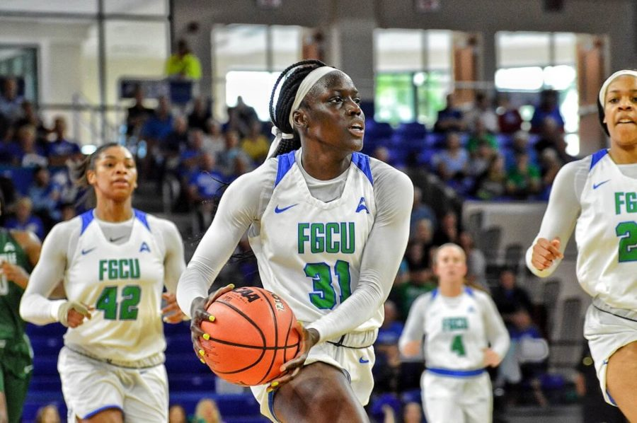 EN+File+Photo+%2F%2F+Nasrin+Ulel+led+the+Eagles+in+points+scoring+18+points%2C+shooting+50+percent+from+the+field+in+FGCU%27s+100-54+rout+of+FIU+in+their+season-opener.+