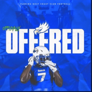 FGCU's club football sent 'offers' to 100+ high schoolers across the U.S.