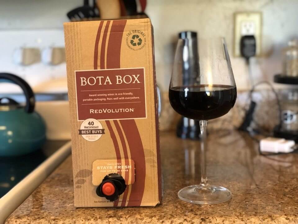 Boxed wine worthy of your love
