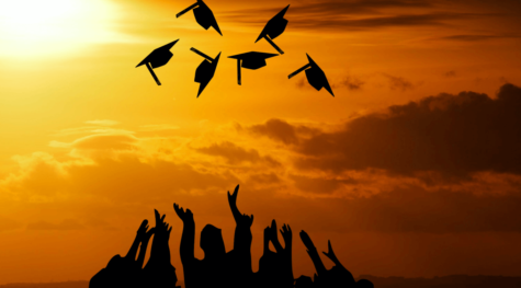 Photo courtesy of creative commons. Students throw their caps into the air after graduating. On Tuesday, Mar. 17 the Florida Board of Governors announced that online instruction will continue through the Spring Semester and that Spring commencement ceremonies are canceled.