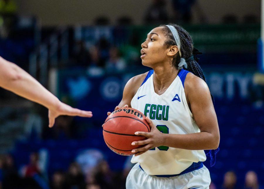 FGCU Womens Basketball Has First Player Opt-Out; EN Photo by Julia Bonavita