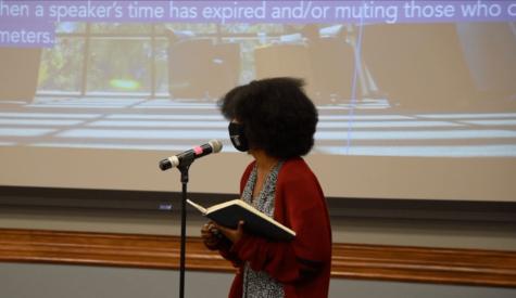 Students and Senators Speak at Melanin Week Bill Second Reading