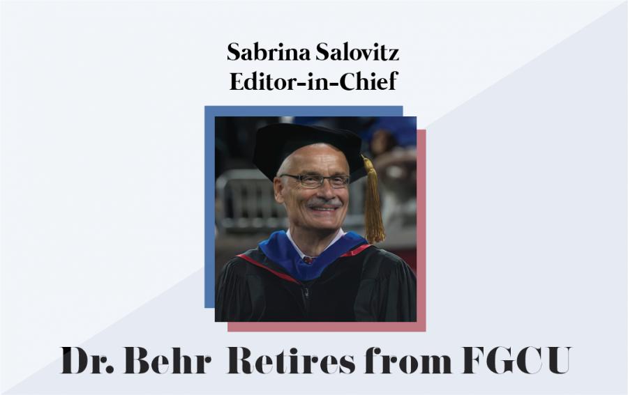 Dr. Behr Retires from FGCU